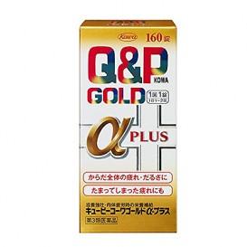 Q&P 골드 알파 플러스 160정 큐앤피