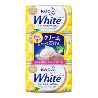 화이트 재생 감귤의 향기 버스 사이즈 비누(130g*3개입)