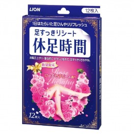 휴족시간 - 로즈 테라피 향기 12매입