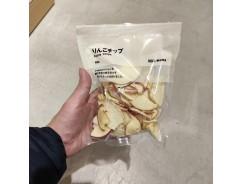 MUJI 사과칩