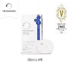 트란시노 화이트닝 페이셜 마스크팩 4매입 (집중미백)