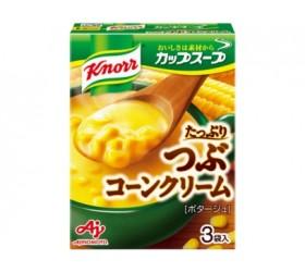 [크노르 컵스프] 건더기 듬뿍 콘 크림 3봉입