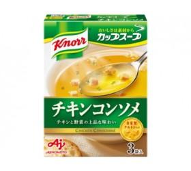 [크노르 컵스프] 치킨 콘 소메 3봉입